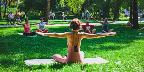 Yoga in the Park  ATL - Donation Yoga @ N. Highland Park in VaHi tickets