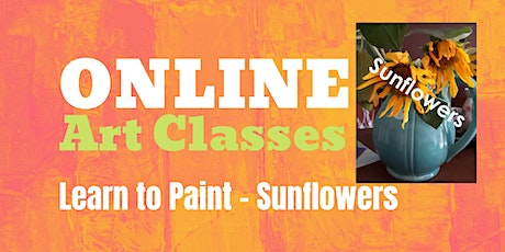 Learn to Paint a Sunflower tickets