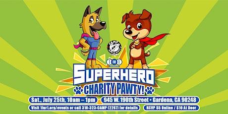 Superhero Charity Pawty tickets
