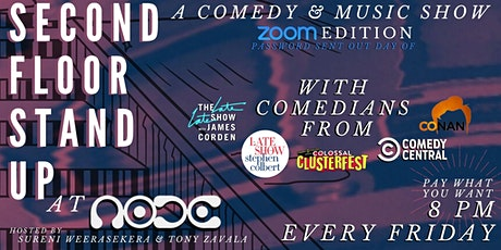Second Floor Stand Up: A Comedy & Music Show @ NODE tickets