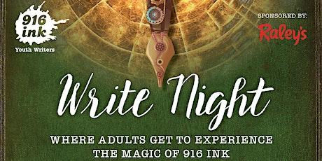 Virtual Community Write Night tickets