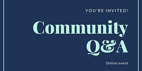 Community Discussion- Q&A tickets