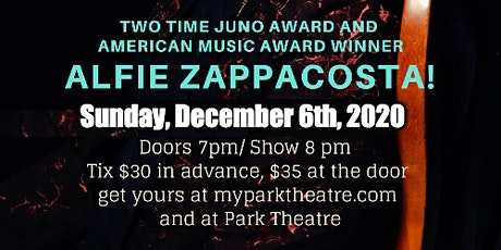 An Intimate Show with Alfie Zappacosta tickets