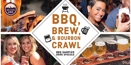 BBQ, Brew, & Bourbon Crawl: Raleigh tickets