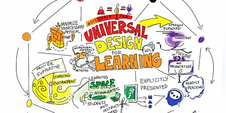 eL130 Universal Design for Learning (UDL) 2020 JUL/AUG/SEPT (Virtual/Zoom) tickets