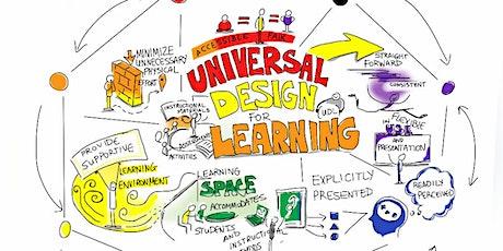 eL130 Universal Design for Learning (UDL) 2020 JUL/AUG/SEPT (Virtual/Zoom) tickets