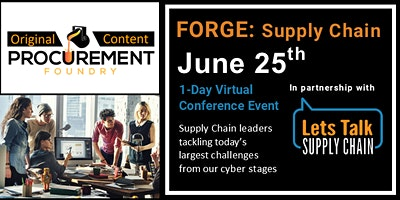 FORGE: SUPPLY CHAIN VIRTUAL CONFERENCE