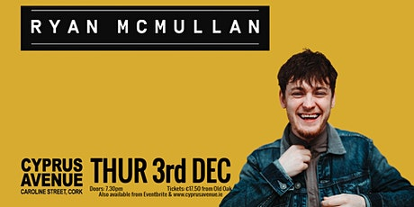 Ryan McMullan tickets