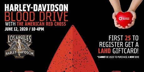 LAHD Blood Drive boletos
