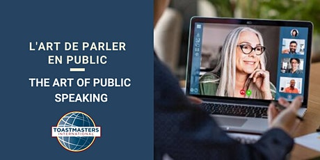 L'art de parler en public et en ligne | The art of public speaking  virtual billets