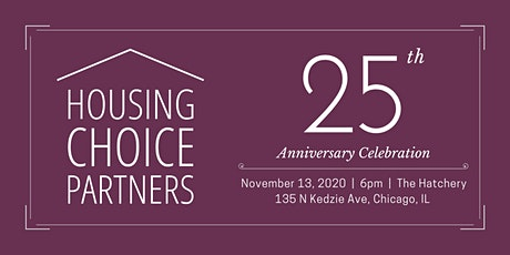 Housing Choice Partners' 25th Anniversary Celebration tickets