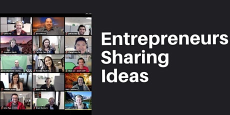 Brain Storming - Entrepreneurs Sharing Ideas tickets