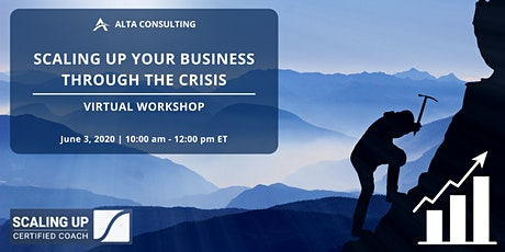 Virtual Workshop: Scaling Up Your Business Through the Crisis tickets