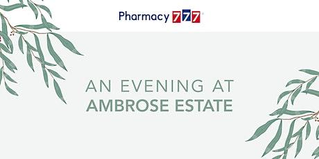 An Evening at Ambrose Estate tickets