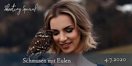 """Shooting Special""""Schmusen mit Eulen"""" tickets"""