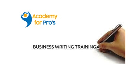 Business Writing 1 Day Virtual Live Training in Sacramento, CA tickets
