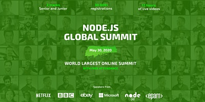 === Node.js Global Summit === Online