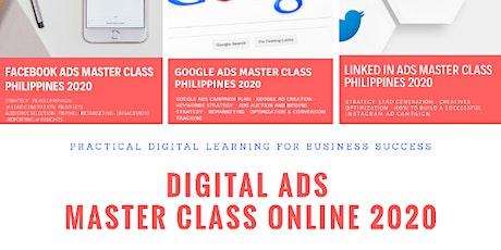 The Digital Ads Master Class Online Philippines 2020 biglietti