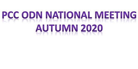 PCC ODN National Meeting tickets