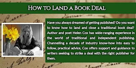 How to Land a Book Deal: An Online Workshop tickets