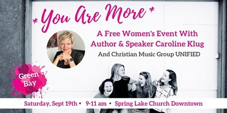 You Are More - Free Inspirational Women's Event tickets