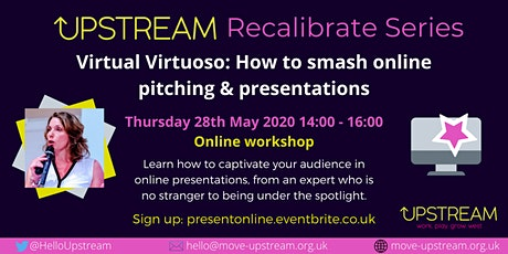 Virtual Virtuoso: How to Smash Online Pitching & Presentations tickets