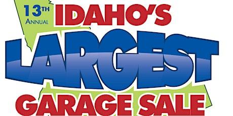 Idaho's Largest Garage Sale 2021 tickets
