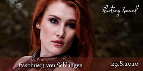 """Shooting Special """"Fasziniert von Schlangen"""" Tickets"""