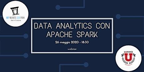 Data Analytics con Apache Spark tickets