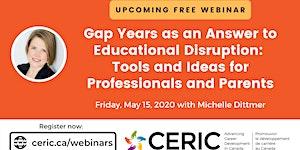 Free Webinar | Gap Years as an Answer to Educational...