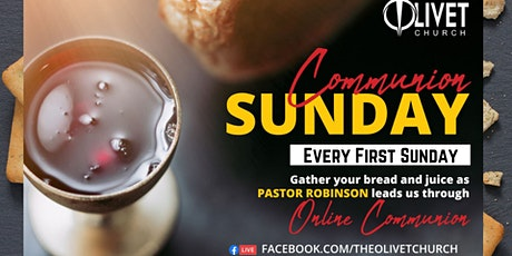 Online Communion Sunday Service tickets