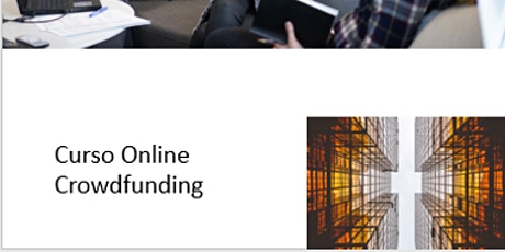 Curso Online. Crowdfunding entradas
