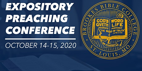 2020 Expository Preaching Conference - The Expositor's Passion tickets