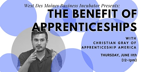 Virtual Expert Advice // The Benefit of Apprenticeships tickets