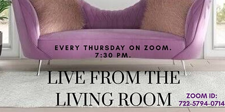 Live from the Living Room tickets