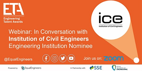 ETA Webinar: In Conversation with the Institution of Civil Engineers (ICE) tickets