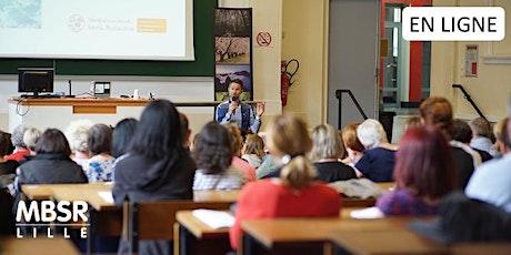 EN LIGNE Conférence MBSR  Réduction du stress basée sur pleine conscience billets