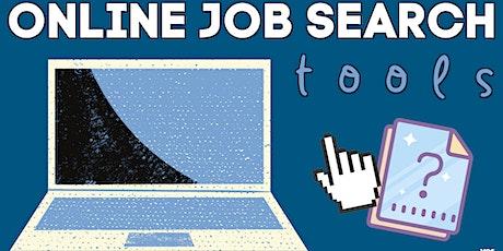 Online Job Search Tools Workshop Tickets