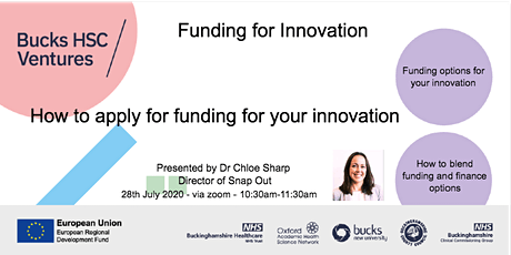 Funding for Innovation tickets