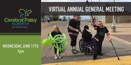Cerebral Palsy Alberta Virtual Annual General Meeting tickets