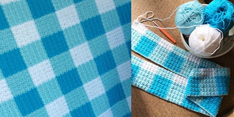 Crochet your own Gingham Blanket tickets