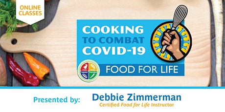 5-Class Online Series: Cooking to Combat COVID-19 tickets