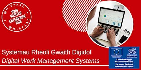 Covid-19:  Systemau Rheoli Gwaith Digidol / Digital Work Management Systems tickets