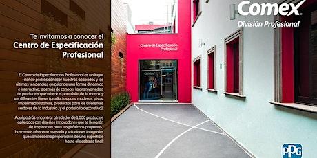 Recorrido Centro de Especificación Profesional -- COMEX entradas