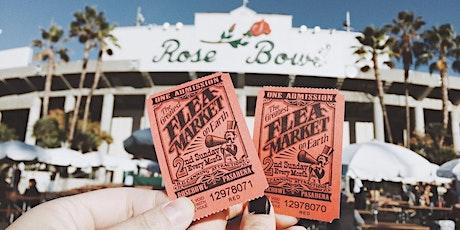 Rose Bowl Flea Market   Sunday, October 11th  tickets