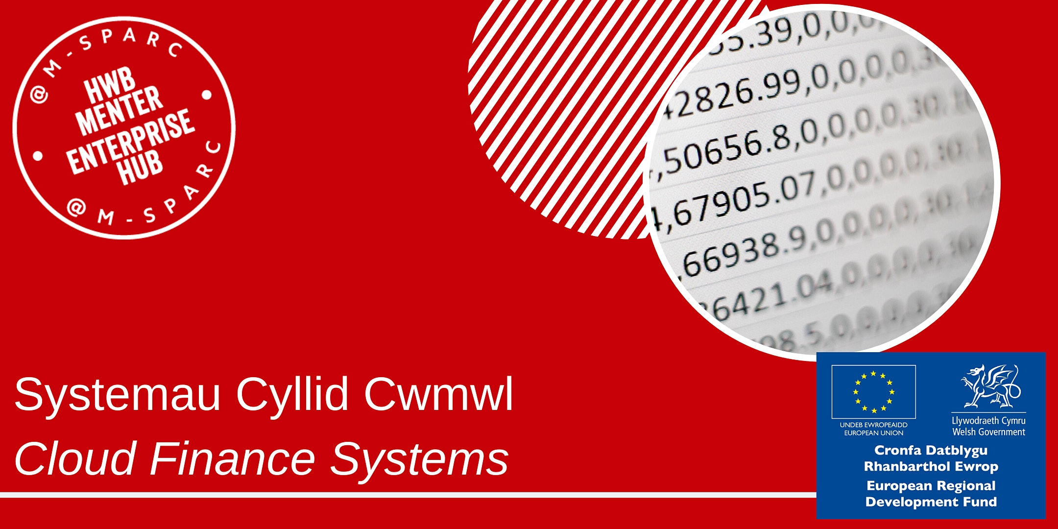 Covid-19:   Systemau Cyllid Cwmwl / Cloud Finance Systems