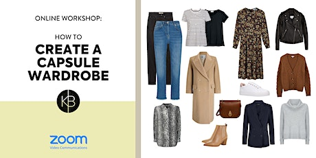 How to Build a Capsule Wardrobe tickets