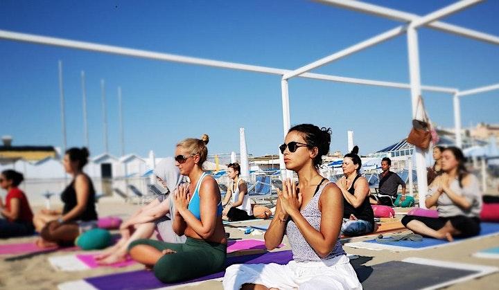 100 Hour Yoga Teacher Training in Italy (Beach) image