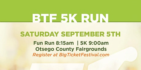 BTF2020 5K Music Run tickets