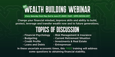 Wealth Building Webinar tickets